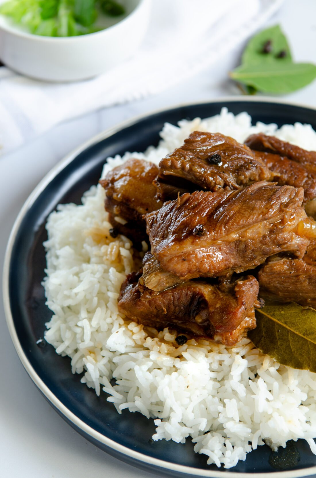 This fall of the bone Pressure Cooker Filipino Pork Adobo is to die for. Try my family's secret recipe and taste what we have been cooking for generations.