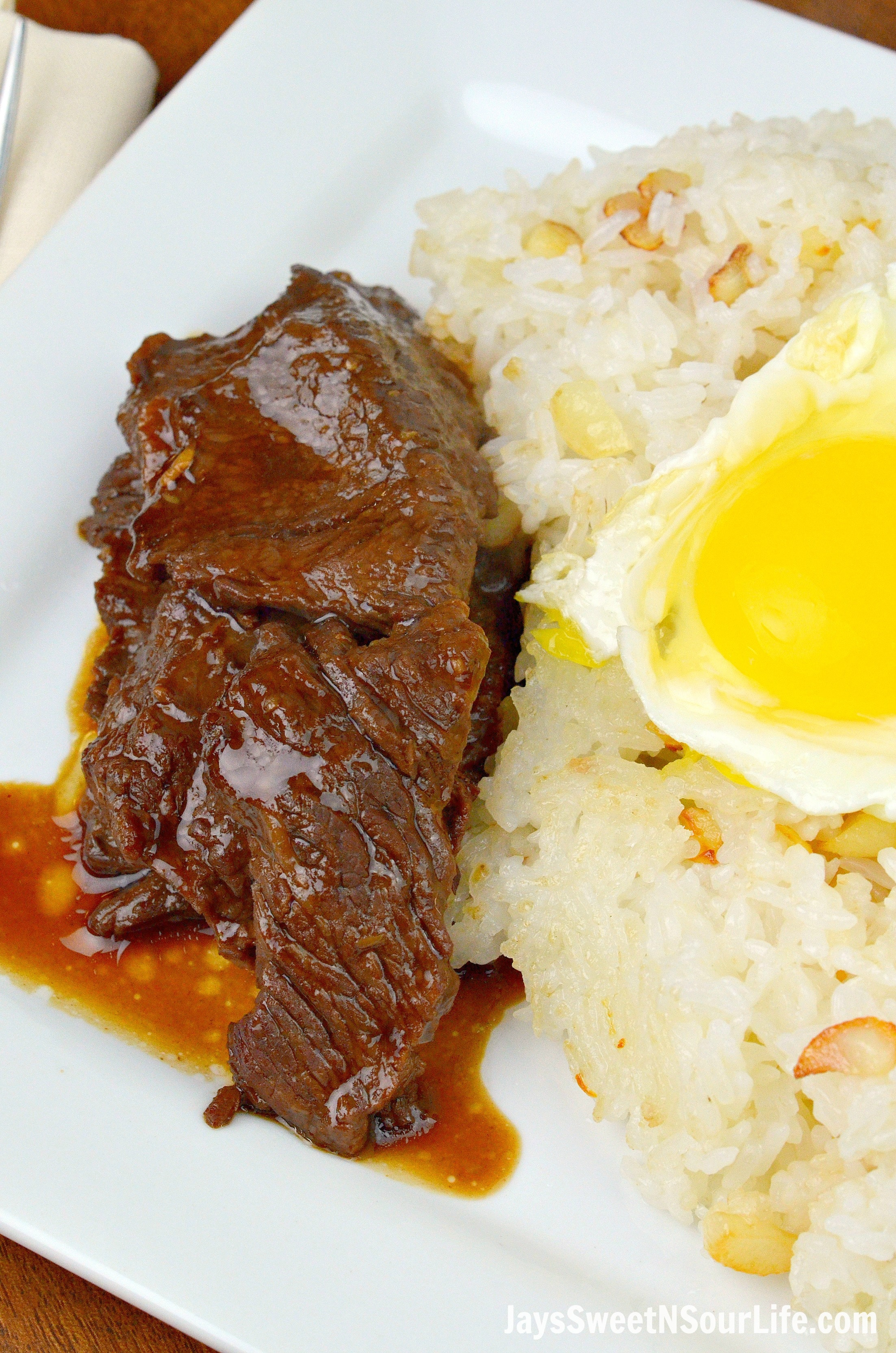 Beef Tapa Plated. Instant Pot Filipino Beef Tapa is a traditional Filipino breakfast dish made inside a pressure cooker. It cuts like butter and is finger licking good.