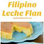 Instant Pot Filipino Leche Flan Pin. Try my stress-free Instant Pot Filipino Leche Flan Recipe. This Filipino version is made with eggs and milk for a custard-like texture, giving you a thick and smooth Leche flan that comes topped with homemade caramel sauce.