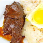 Instant Pot Filipino Beef Tapa is a traditional Filipino breakfast dish made inside a pressure cooker. It cuts like butter and is finger licking good.
