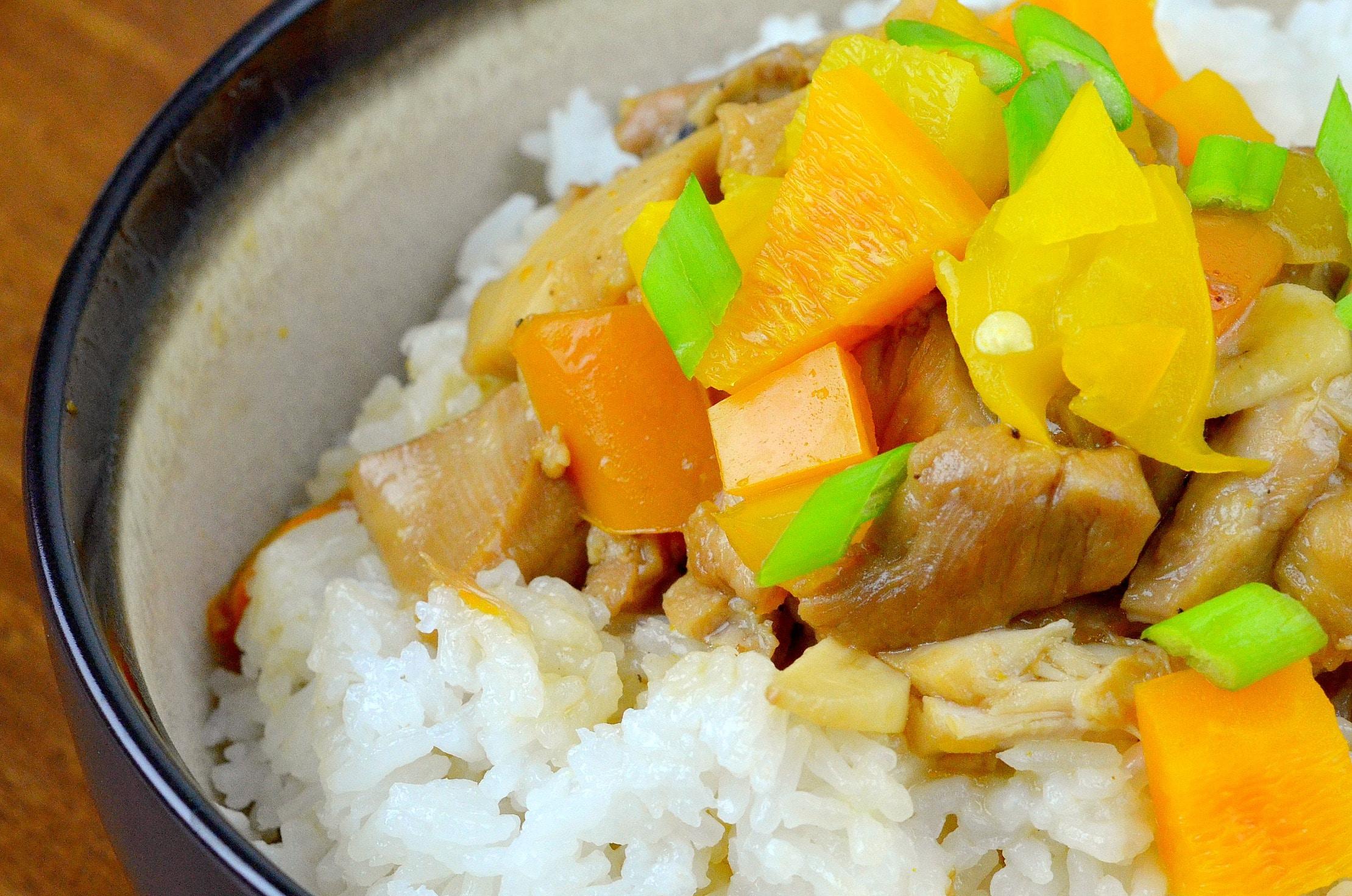 Pressure Cooker Orange Chicken
