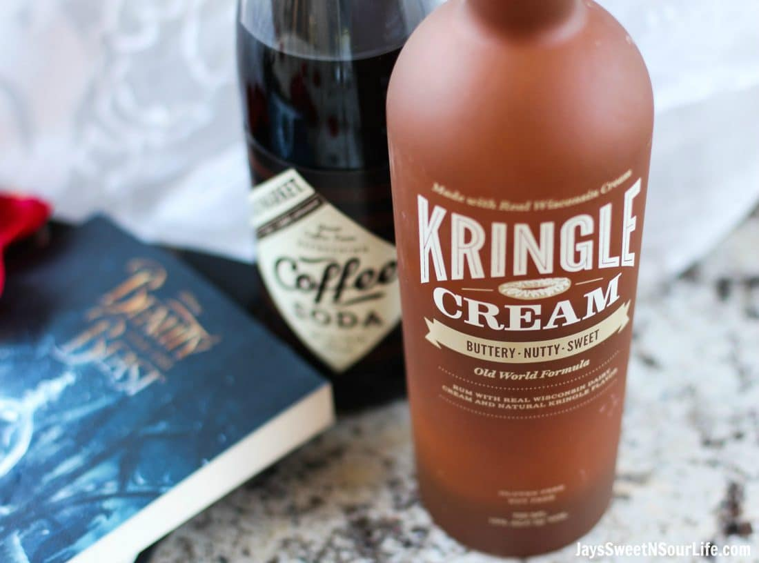Beauty and the Beast Cocktail Ingredient. Break the curse with this Disney inspired Beauty and the Beast Cocktail. Made with layers of Kringle Cream Liqueur and Coffee Soda, this simple but elegant cocktail recipe delivers a delicious big flavor.