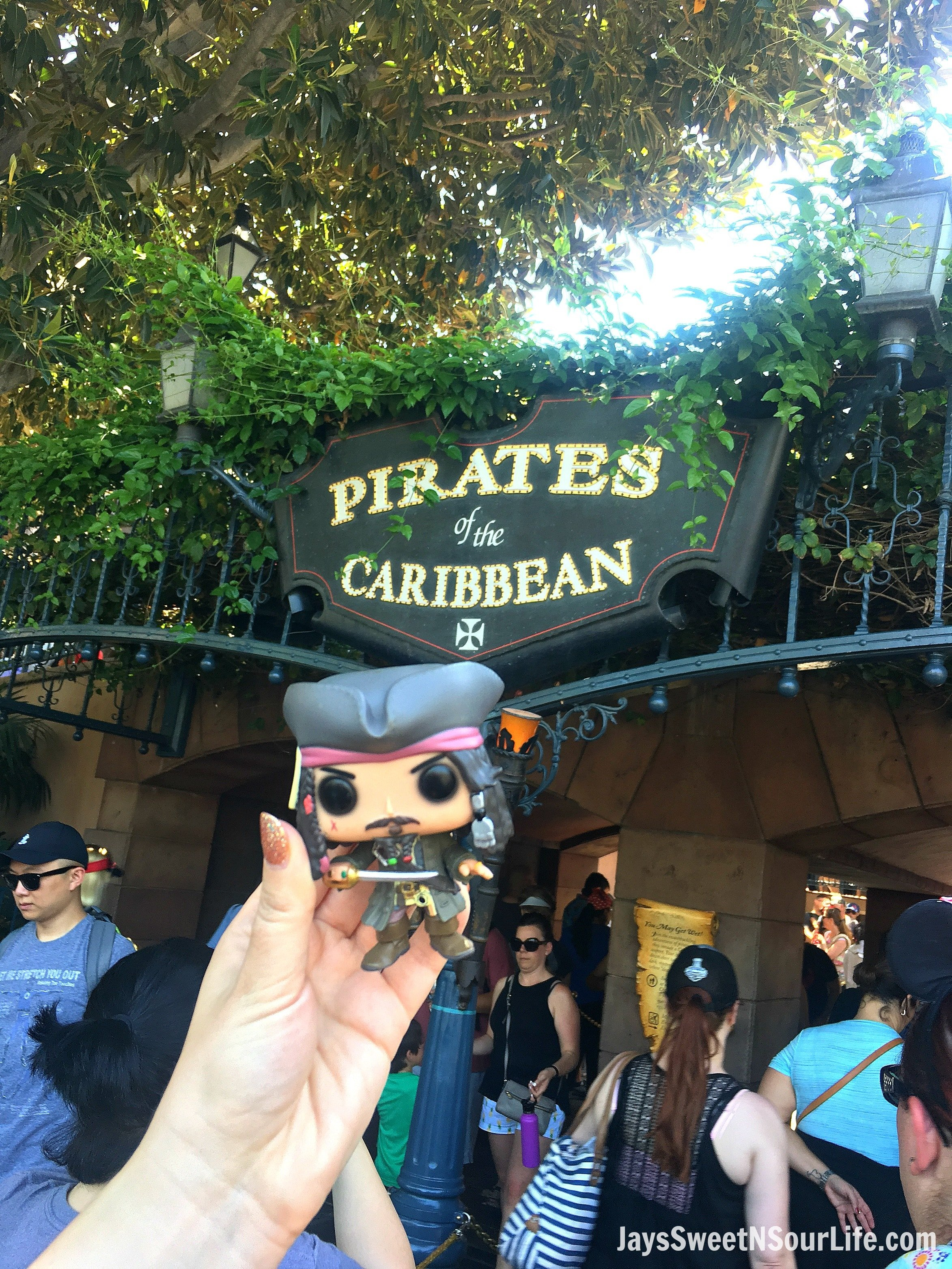 Sailing The High Sea's At Disneyland's Pirates Of The Caribbean Ride and Disney Archives Visit