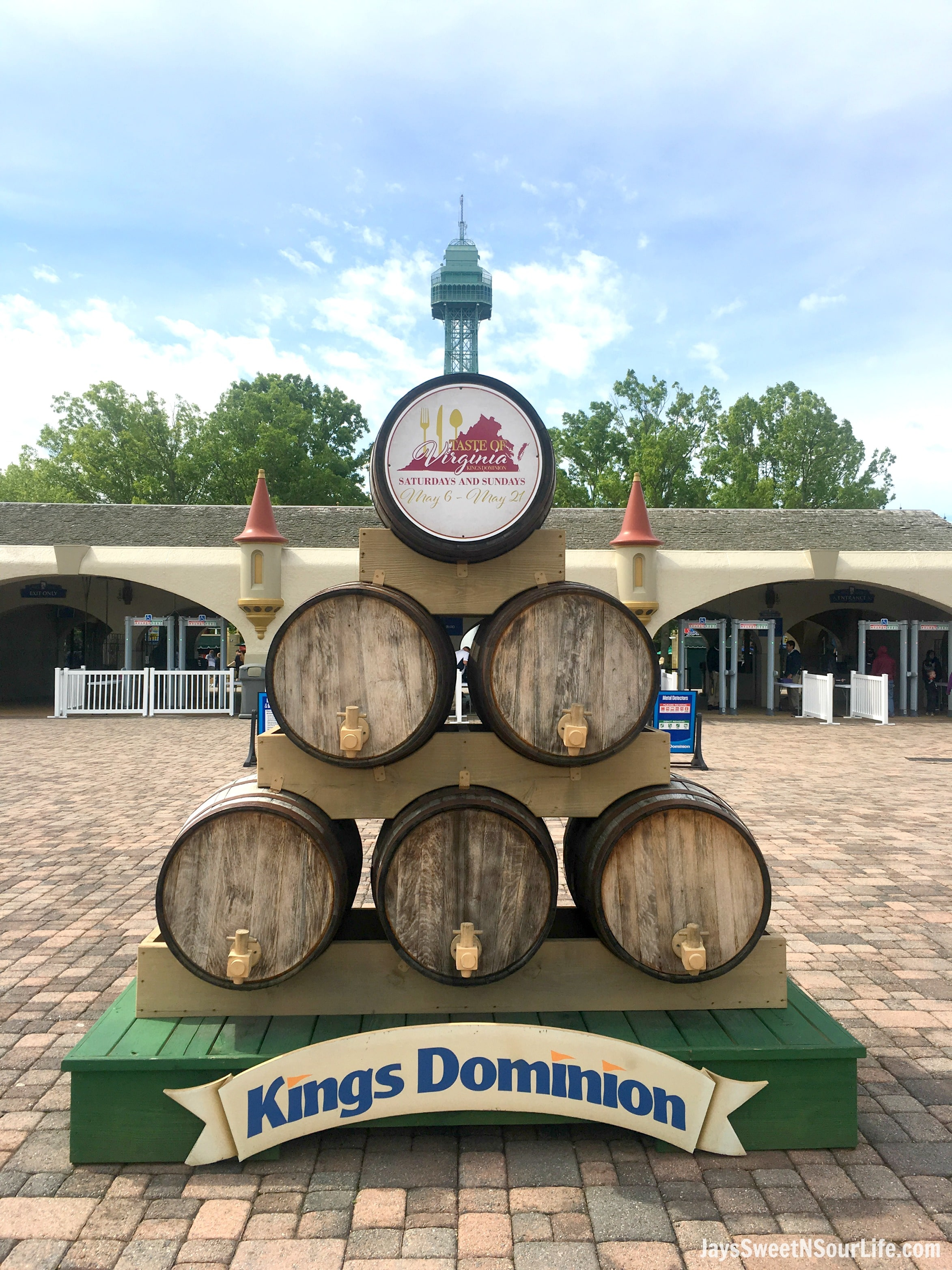 Taste of Virginia Food Festival at Kings Dominion