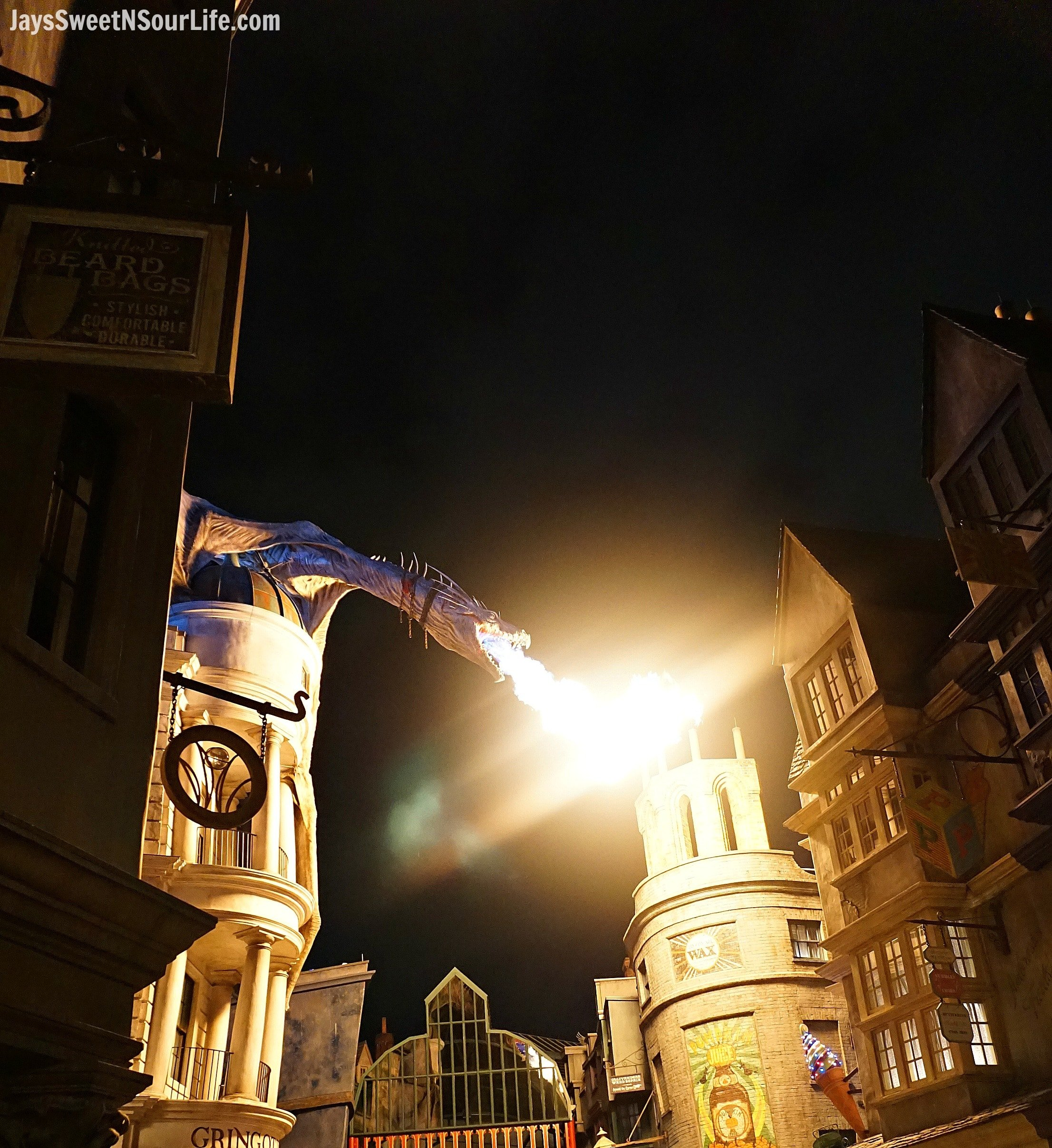 Diagon Alley in Universal Studios – Private Nighttime Experience