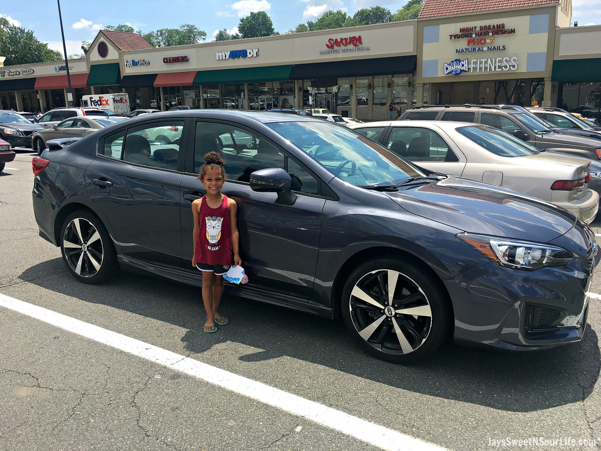 Cruising around Washington D.C. in the 2017 Subaru Impreza iSport Sedan