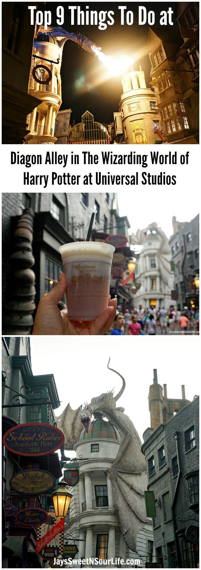 My full list of Top 9 Things To Do at The Wizarding World of Harry Potter at Universal Studios Florida. Explore the Wizarding World of Harry Potter at Universal Studios using my guide.