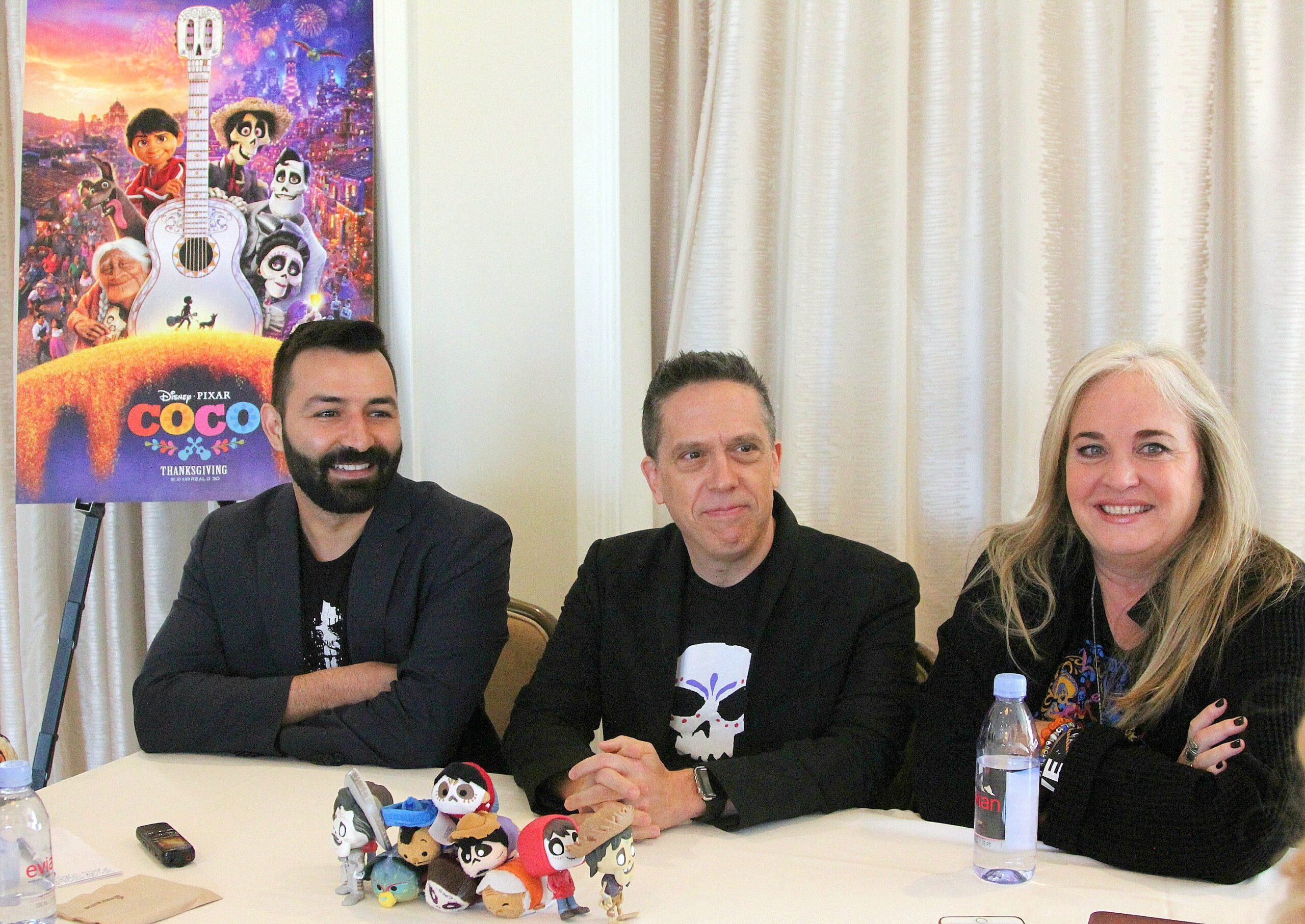 Exclusive Interview With Disney Pixars COCO Director Lee Unkrich, Writer & Co-Director Adrian Molina and Producer Darla K. Anderson