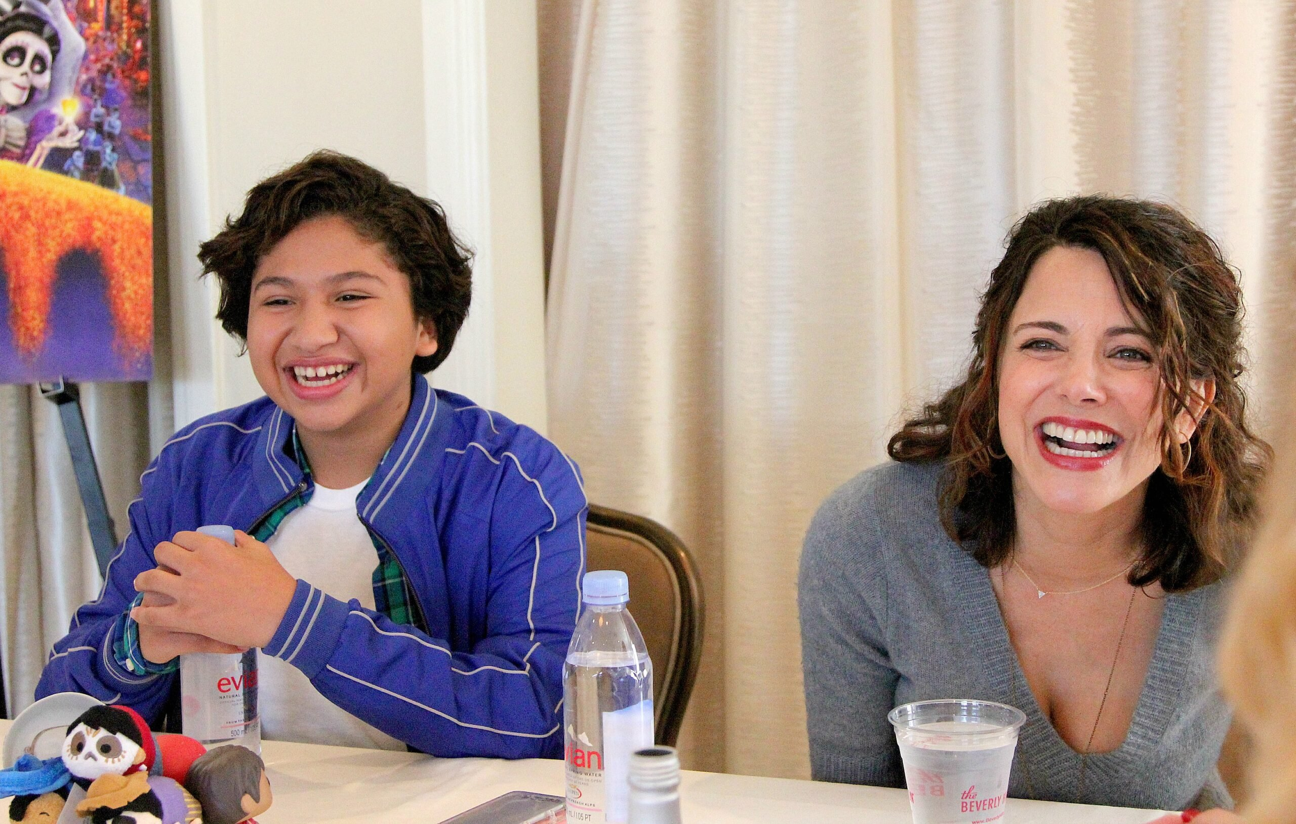 Exclusive Interview With Anthony Gonzalez (Voice of Miguel) and Alanna Ubach (Voice of Mama Imelda) in Disney Pixars COCO