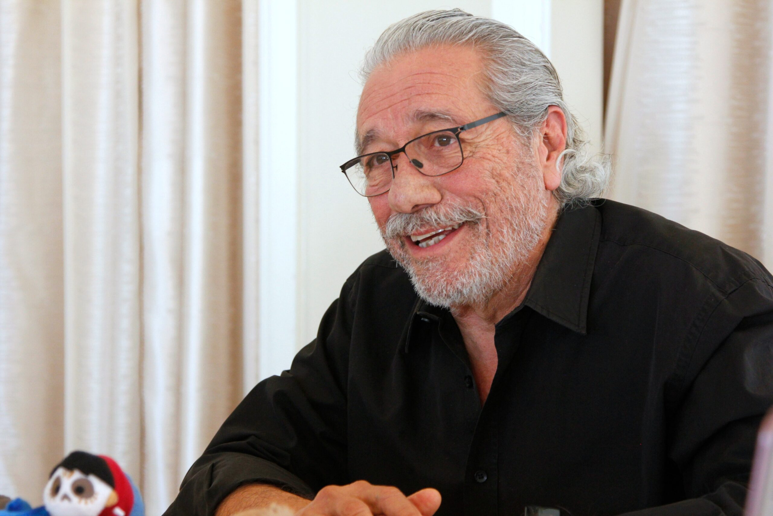 Exclusive Interview With Edward James Olmos Voice of Chicharron in Disney Pixars COCO