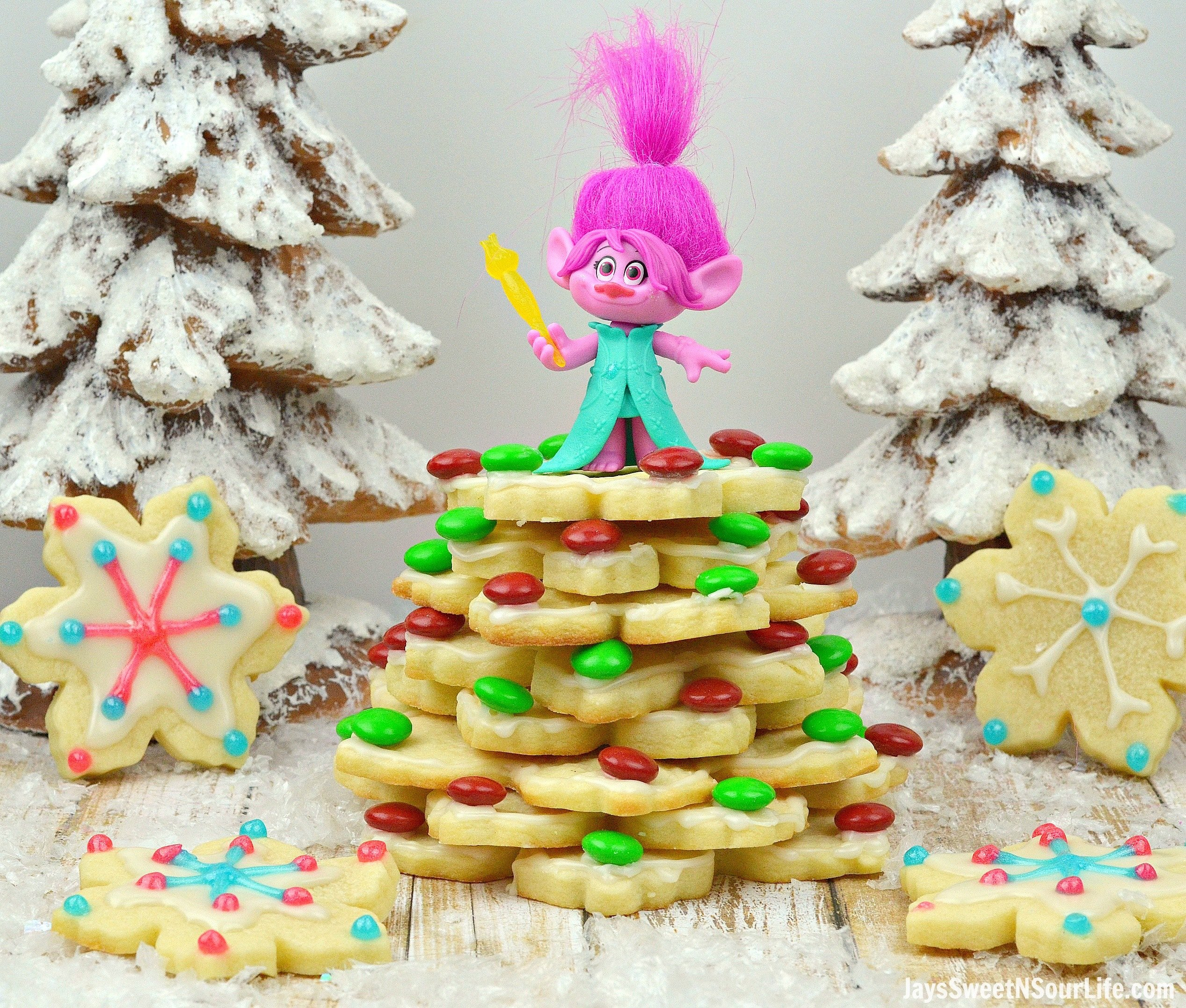 Troll's Sugar Cookie Christmas Tree