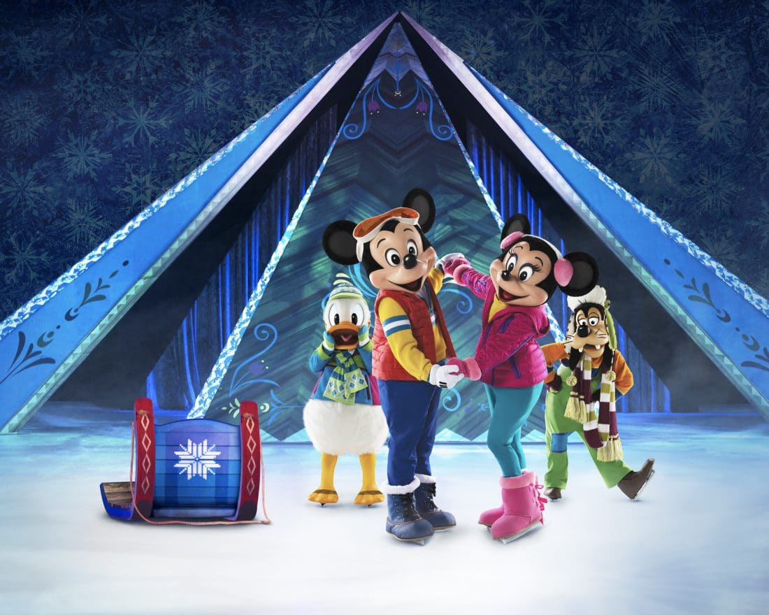 Disney on Ice Presents Frozen will be coming to the Washington D.C. Area Feb 14-19.