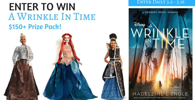A Wrinkle In Time Giveaway – $150+ Prize Pack