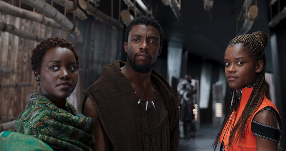"""Marvel Studios' """"Black Panther"""" hits U.S. theaters on February 16, 2018."""