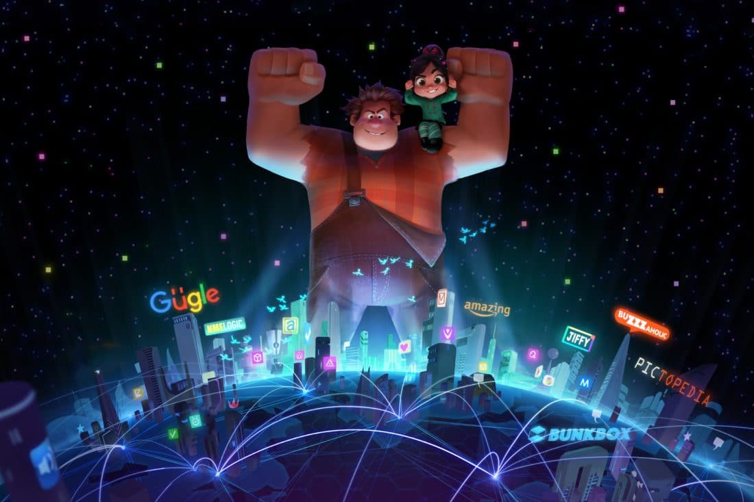 """""""Ralph Breaks the Internet: Wreck-It Ralph 2"""" leaves Litwak's video arcade behind, venturing into the uncharted, expansive and thrilling world of the internet—which may or may not survive Ralph's wrecking. """"Ralph Breaks the Internet: Hits theaters on Nov. 21, 2018."""