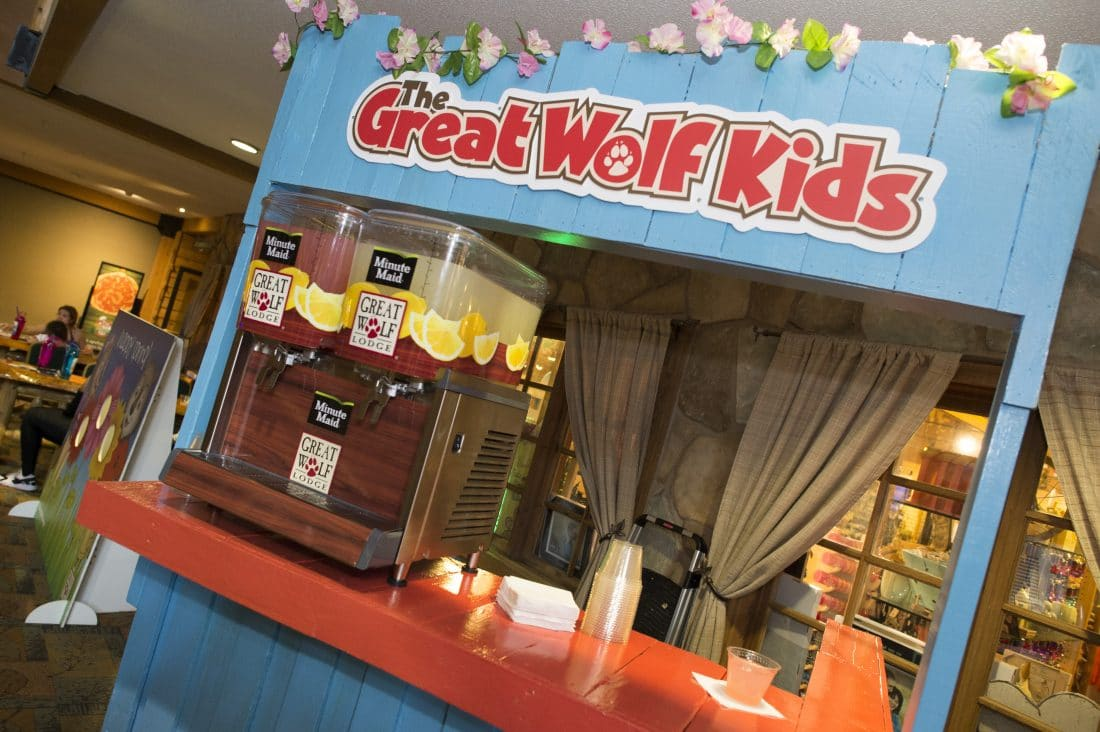 Spend some family time at the Great Wolf Lodge Williamsburg during their Spring-A-Palooza. Look out for their complementary Alex's Lemonade Stand.