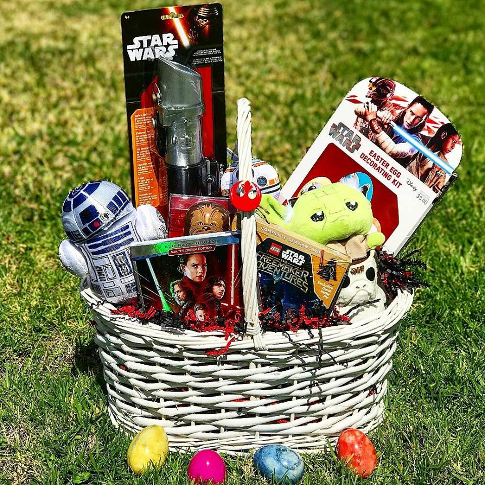 Enter to win in our Star Wars Easter Basket Giveaway with a retail value over over $125. Make Easter a hopping good one by winning this wonderful Easter basket.