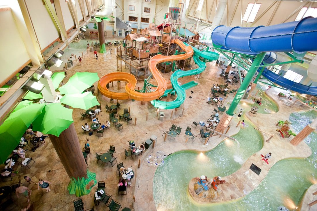 Spend some family time at the Great Wolf Lodge Williamsburg during their Spring-A-Palooza. Checkout the huge Indoor Water Park, perfect for the whole family.