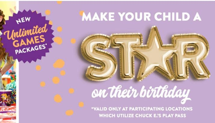 Book your VIP Birthday Party at your local Chuck E. Cheese's. Book your party online and make your child a star at their birthday party.