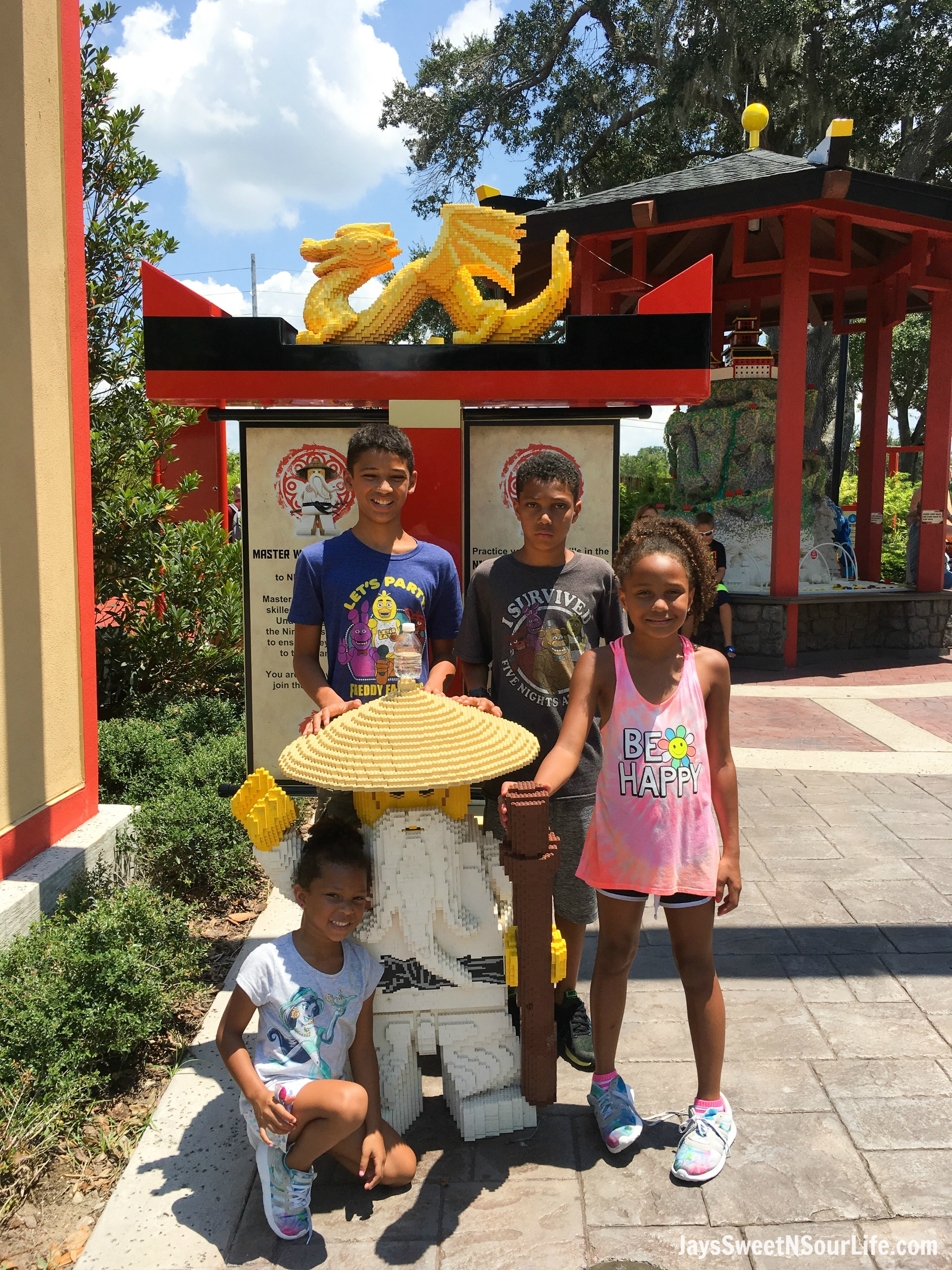 LEGO® NINJAGO® WORLD in LEGOLAND® Florida Resort Guide