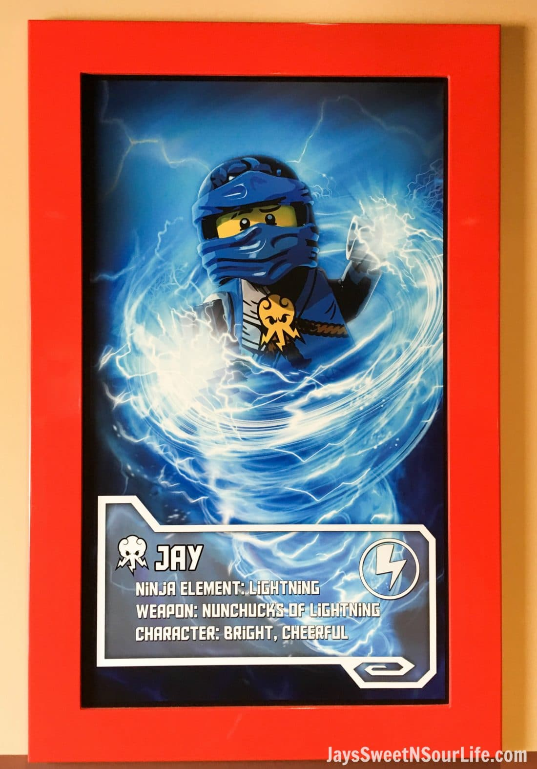 Legoland Florida Poster of Jay in the Ninjago World Ride. Spend your summer building memories at Legoland in Florida. There is something for the whole family to enjoy at this wonderful Theme Park.