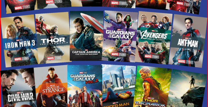 Ultimate Marvel Movie Collection Giveaway – Ends April 27th