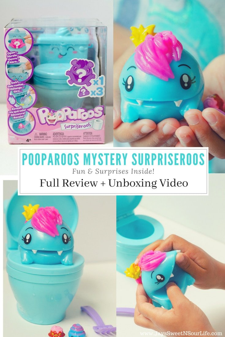 Pooparoos Mystery Surpriseroos is full of Fun & Surprises Inside! Read my full kid-friendly review as well as a fun unboxing and play demonstration. #Pooparoos @Walmart @mattel #ad #review #unboxing #toy #toys