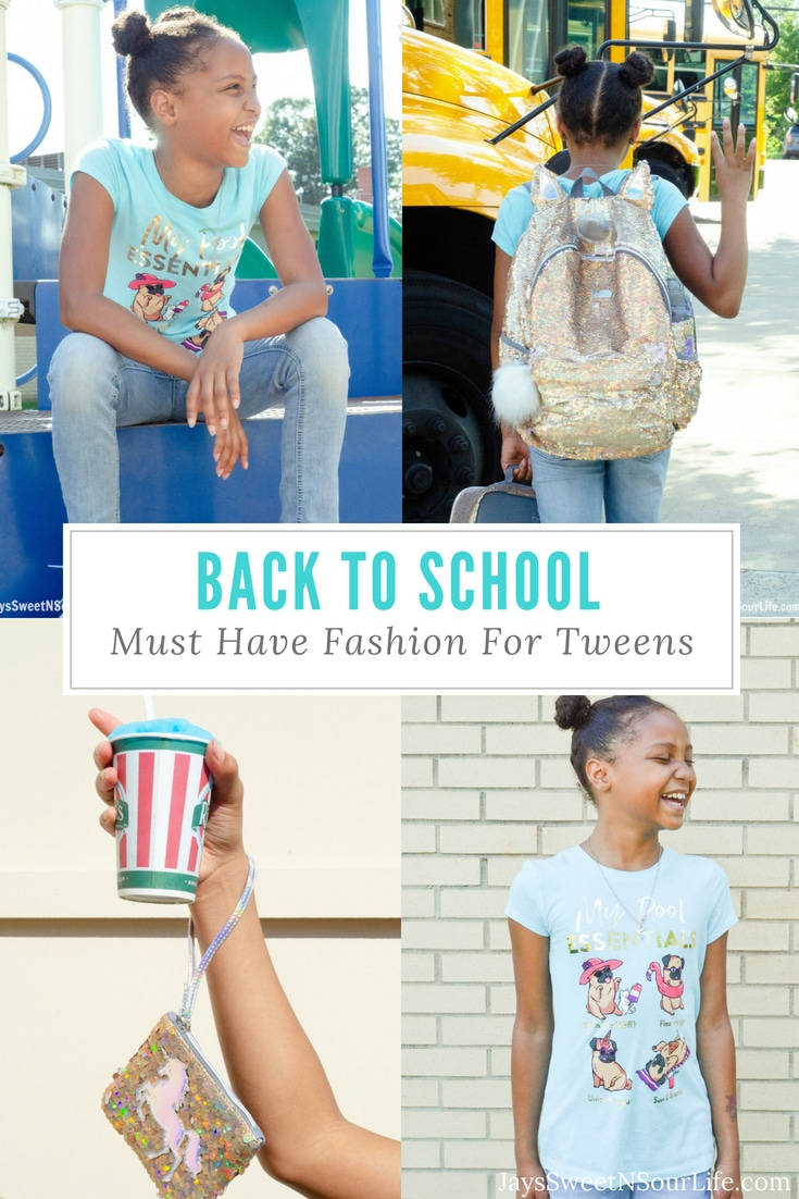 Check out some of the newest magical Back To School Fashion for Tweens available at Justice. Back To School Must Have Fashion For Tweens via -@sweetnsourdeals JaysSweetNSourLife.com #ad #fashion #LiveJusticeBTS #LiveJustice @Justiceofficial