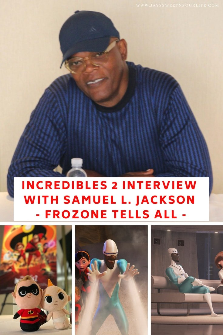 Incredibles 2 Interview with Samuel L. Jackson _ Frozone Tells All. Read the full interview on JaysSweetNSourLife.com, The Incredibles 2 film will be in theaters everywhere June 15th.