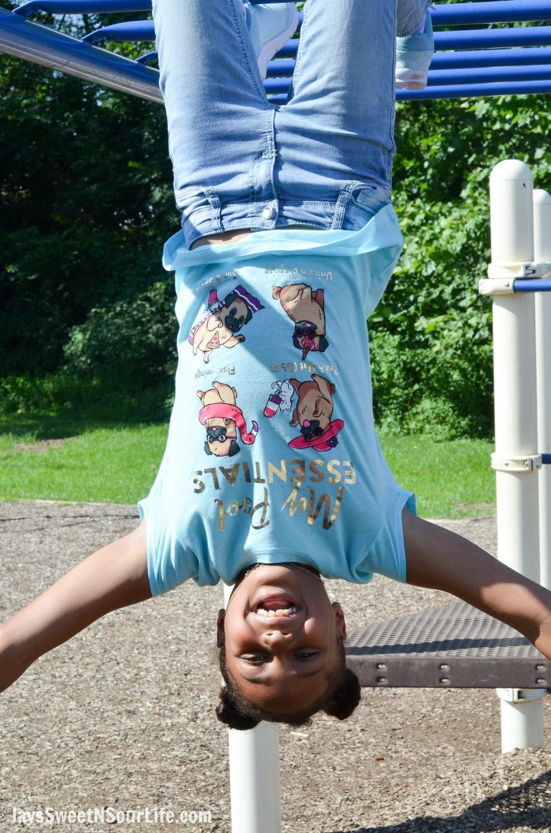 Justice Back To School Shirt Lifestyle Monkey Bars. Back To School Must Have Fashion For Tweens via JaysSweetNSourLife.com