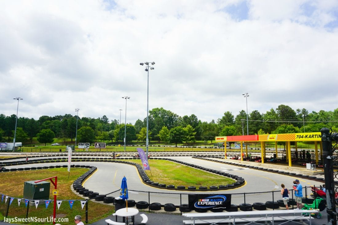 SpeedPark - Visit Cabarrus County Track. A Large Families Adventure Guide To Cabarrus County - North Carolina - via JaysSweetNSourLife.com.