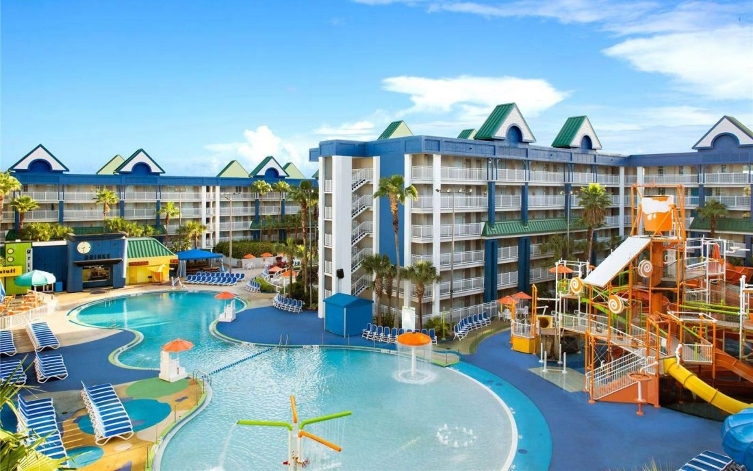 Holiday inn resort orlando Lagoon Pool photo.