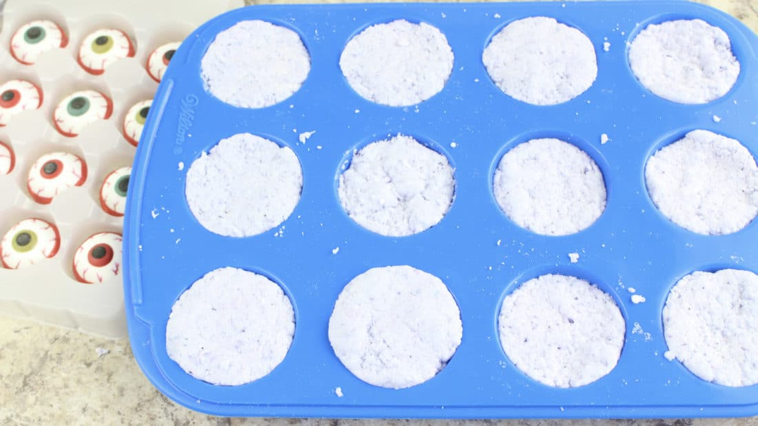 Step 8 Zombie Eyes Bath Bombs. Create your very own DIY Zombie Eyes Bath Bombs.