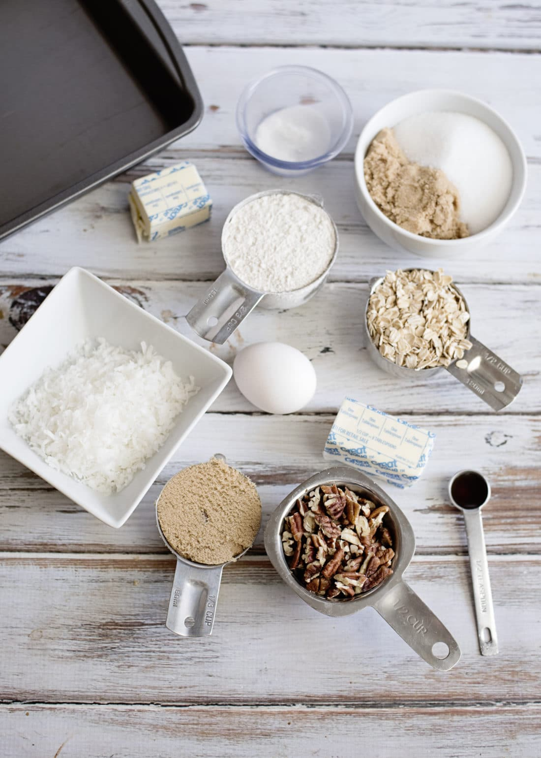 Everything you need to make an Oatmeal Cake with Coconut Pecan Frosting Full Ingredients. Fill your home with the smell of an easy to make Grandma's recipe Oatmeal Cake with Coconut Pecan Frosting.