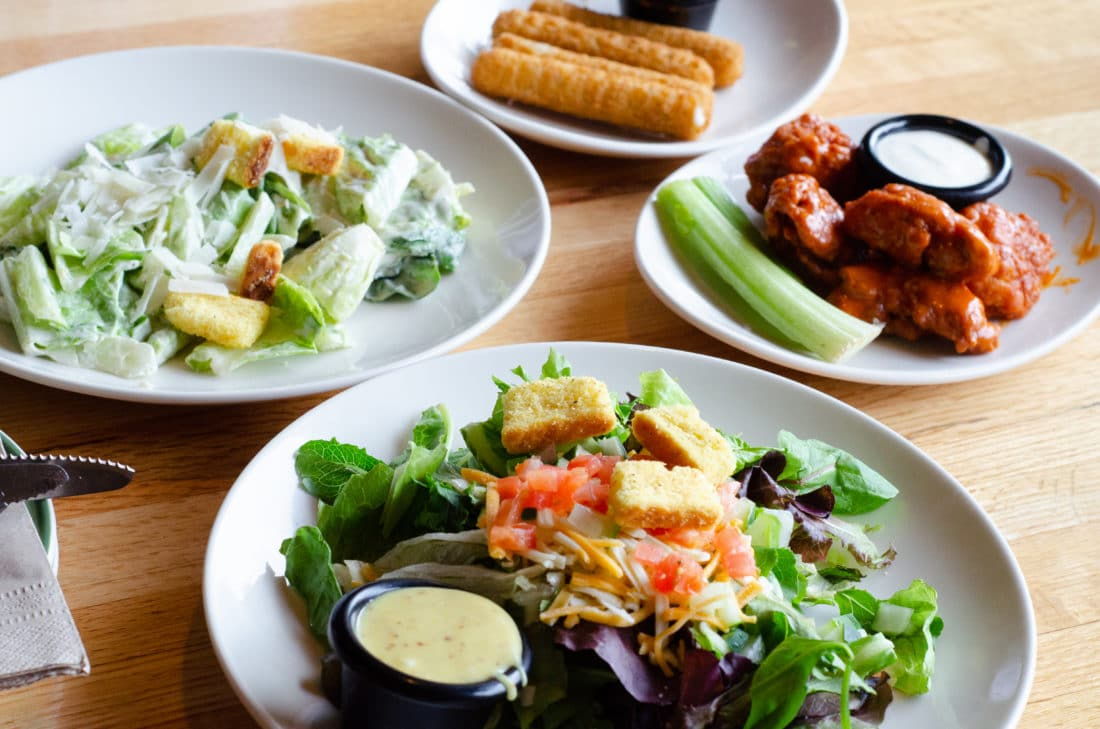 Salad and Appetizer Selection from Applebee's Three-Course Meal. Take advantage of the Applebee's Delicious New Three-Course Meal's Starting at $12.
