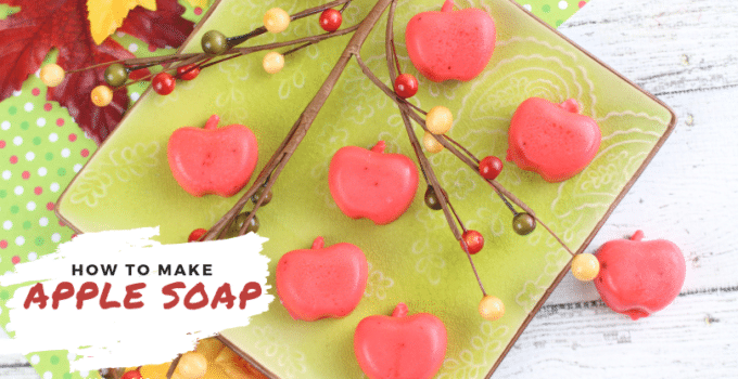 How To Make Apple Soap – Easy DIY Soap Recipe