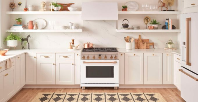 Modern Kitchen Ideas – The New Café Matte Collection by GE