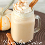 Pumpkin Spice Milkshake. Quick and easy pumpkin spice milkshake with pumpkin, spices, and creamy ice cream. The perfect way to treat yourself to a delicious treat right at home!