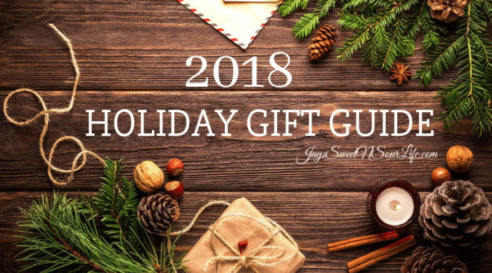 The elves worked really hard to put this 2018 Holiday Gift Guide together, and we excited to share all the wonderful discoveries we have recently made at the North Pole!