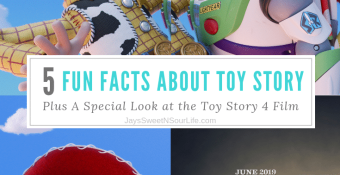 5 Fun Facts About Toy Story – Plus A Special Look at the Toy Story 4 Film