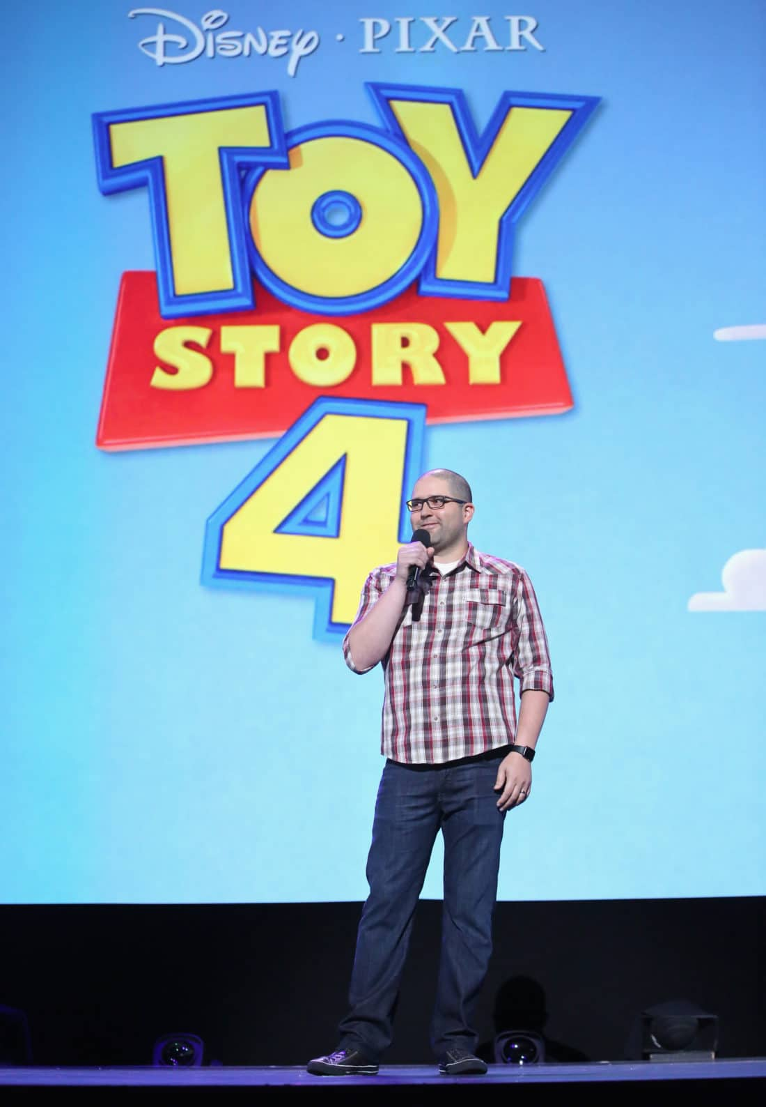 Director Josh Cooley of TOY STORY 4 took part today in the Walt Disney Studios animation presentation at Disney's D23 EXPO 2017 in Anaheim, Calif. TOY STORY 4 will be released in U.S. theaters on June 21, 2019.