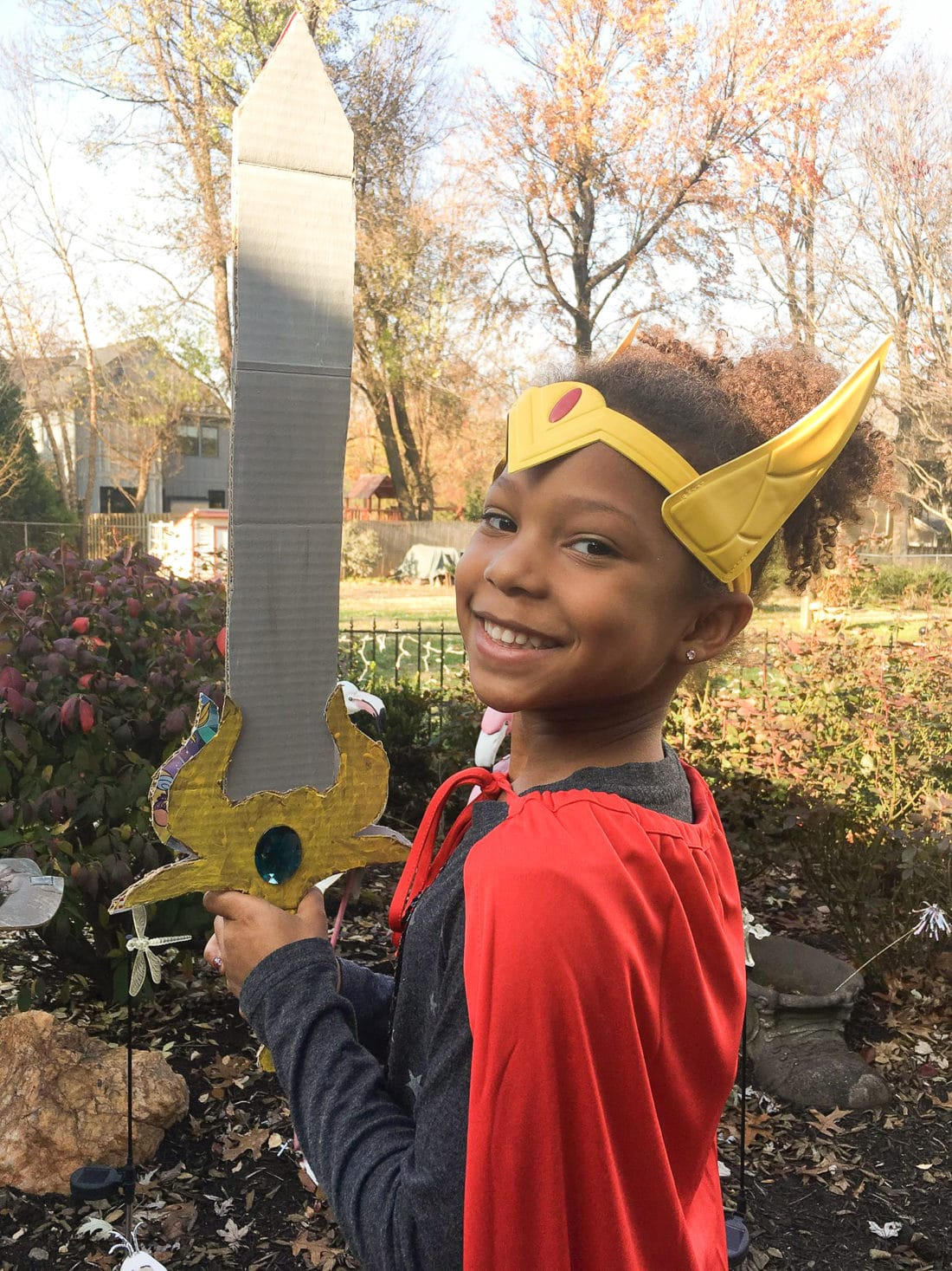 African American Girl wielding she-ra sword craft. The highly anticipated Netflix original, DreamWorks She-Ra and the Princesses of Power, is now available. Stream all 13 episodes only on Netflix today!