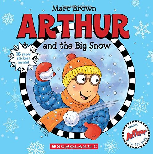 It's the perfect snow day, and Arthur is excited to spend it with his friends. Read more about this book and more books in my Holiday Gift Ideas For Kids Guide.