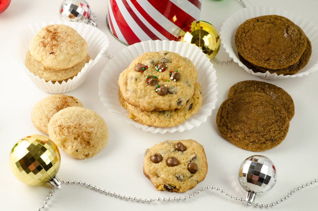 """Holiday Teachers Gift Ideas Assorted Cookies. Nothing says """"Happy Holidays"""" like a Holiday Teachers Gift. Read more about my three fun Holiday Teachers Gift Ideas for your family to try this holiday season."""