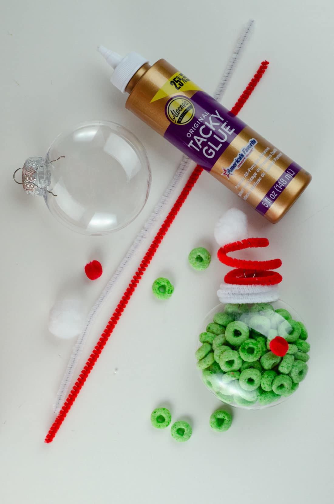 Christmas Ornament Ideas for Kids Using Cereal The Grinch Supplies. It's time to let the kids be the boss for this new kid-friendlyChristmas DIY. Rethink Cereal with somr my Christmas Ornament Ideas for Kids Using Cereal.