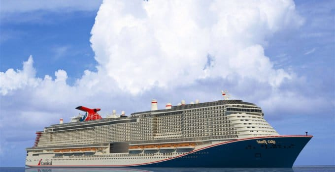 Mardi Gras – The Largest Carnival Cruise Ship to Date is Set to Sail in 2022