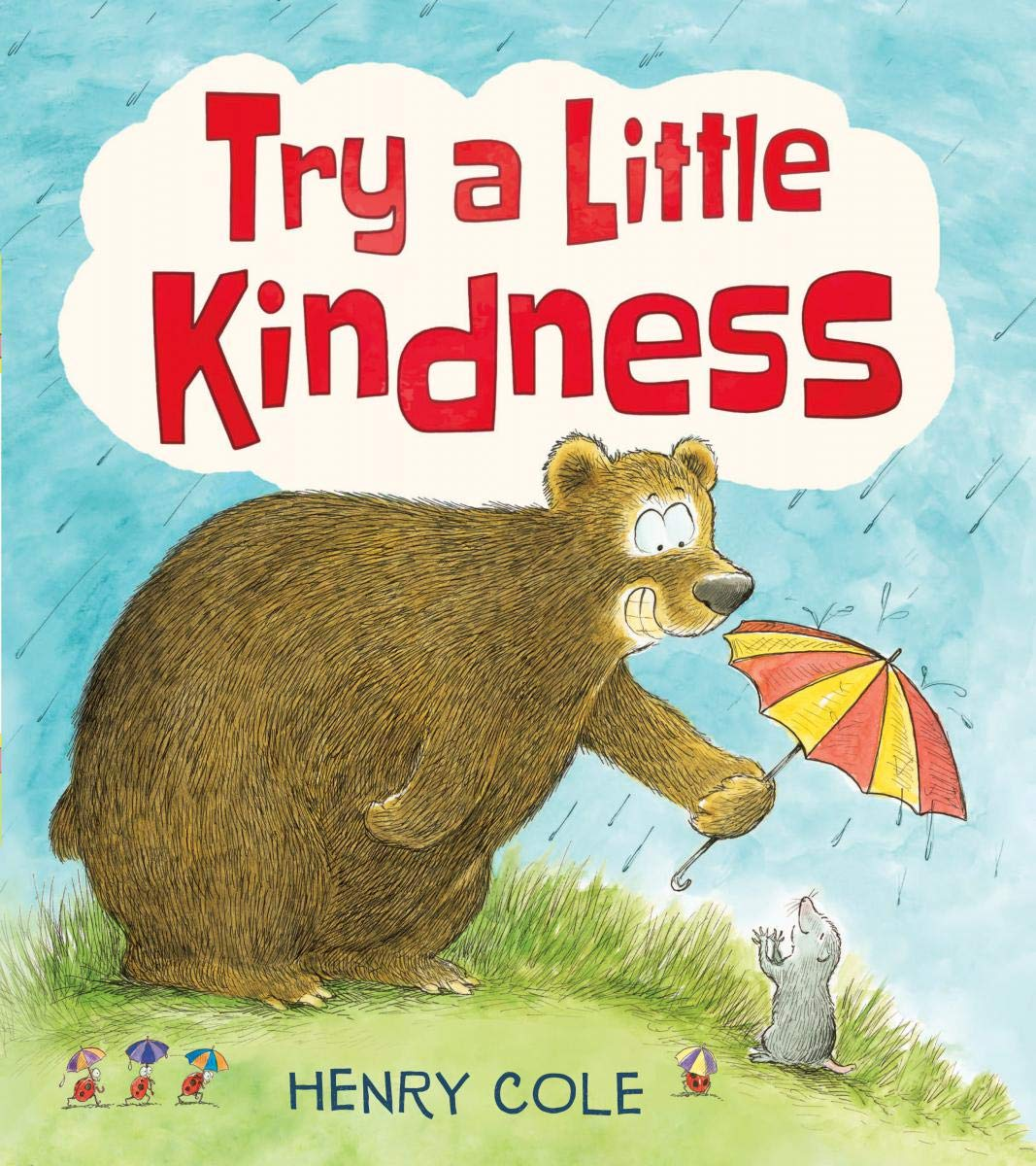 In this funny picture book, bestselling illustrator Henry Cole shows kids different ways to be kind with his hysterical cartoon animal characters. Read more about this book and more books in my Holiday Gift Ideas For Kids Guide.
