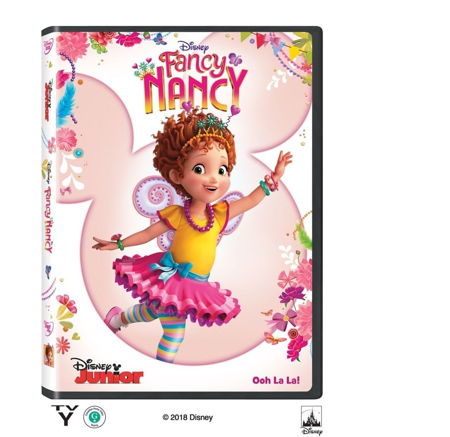 """Grab some glitter, add a dash of """"ooh la la,"""" sprinkle in original songs and… Voilà! Get set to pour on the fun with Fancy Nancy."""