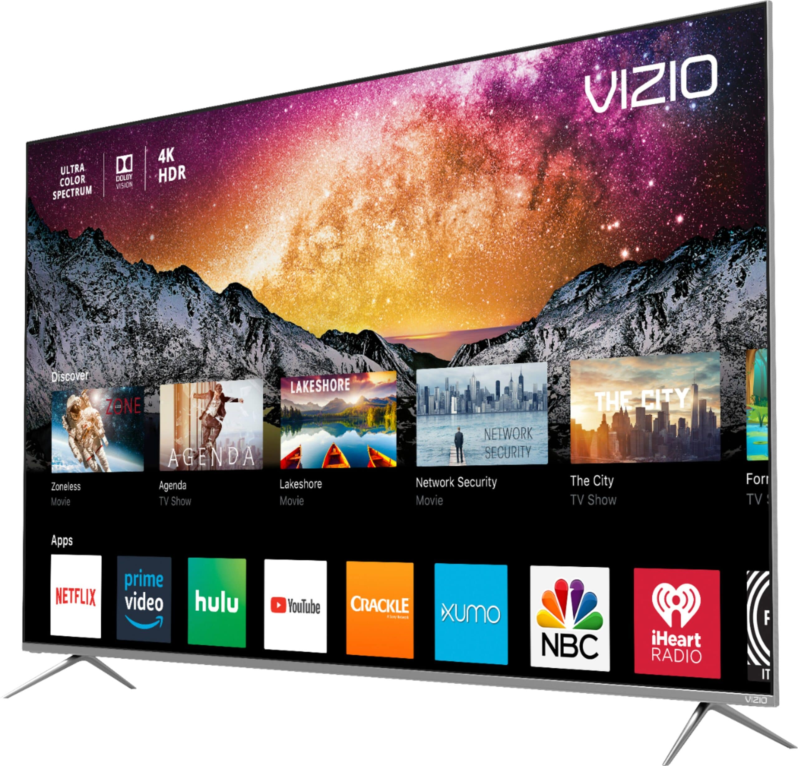 VIZIO P Series 55 Inch 4K HDR Smart TV Smart TV Options. Learn about how every pixel is a masterpiece of vivid color, pristine clarity and precise contrast with the all-new 2018 VIZIO P-Series® 4K HDR Smart TVs.