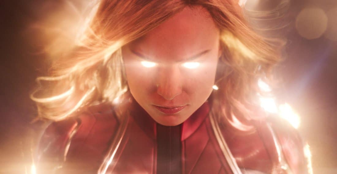 Marvel Studios Captain Marvel Eyes Glowing. Set in the 1990s, Marvel Studios'CAPTAIN MARVELis an all-new adventure from a previously unseen period in the history of the Marvel Cinematic Universe that follows the journey of Carol Danvers as she becomes one of the universe's most powerful heroes.